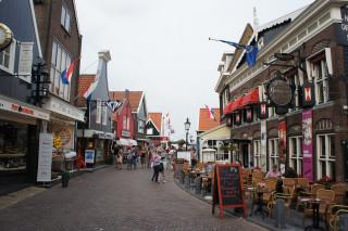Uliczka w Volendam