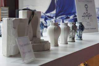 Delft - kolejne fazy produkcji porcelany