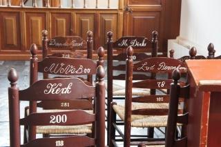 Wnętrze kościoła w Zuiderzeemuseum