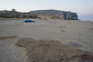 Nocleg na skałach