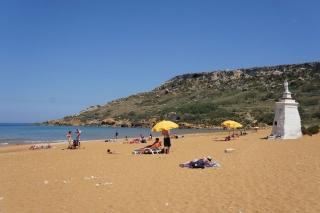 Plaża Ramla na Gozo