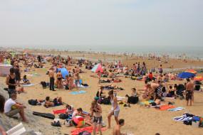 Plaża w Oostendzie