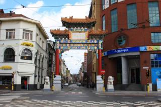 Chińska dzielnica w Antwerpii
