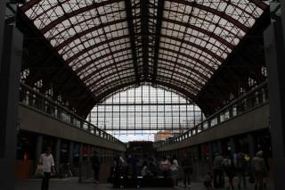 Dworzec w Antwerpii 2