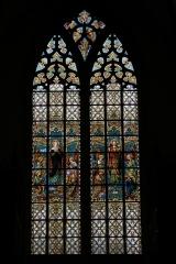 Notre Dame de la Chapelle - witraż
