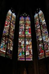 Witraż 2 - katedra św. Rumbolda w Mechelen