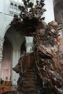 Ambona w katedrze św. Rumbolda w Mechelen