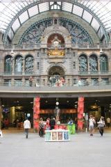 Dworzec w Antwerpii 1