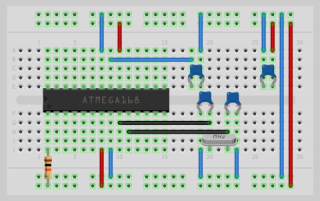 Atmega168 / Atmega328 minimum