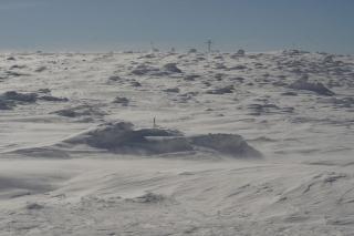Podejście pod Pilsko zimą