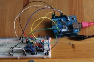 Prototypowanie układu na płytce stykowej