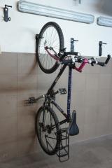 Rower na wieszaku