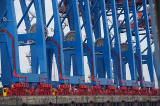 Dźwigi portowe Hamburg