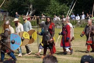 Wikingowie przed bitwą