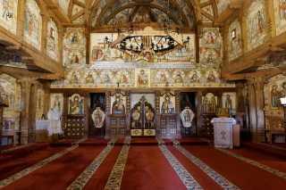 Cerkiew w Manastirea Barsana