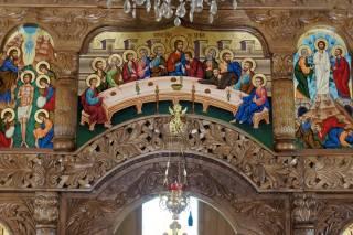 Ikonostas - cerkiew w Baile Felix