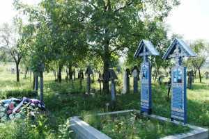 Wesoły Cmentarz Sapanta - jest też wiele starych grobów