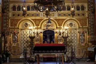 Cerkiew Constanta - ikonostas
