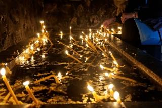 Monastyr Cozia świece
