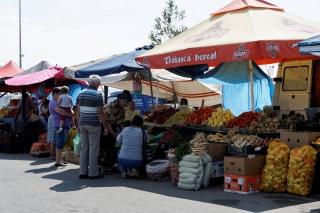 Targ warzywny w Oradei