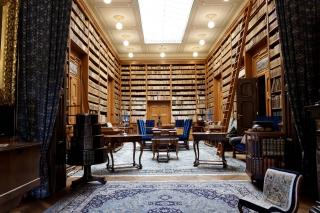 Pałac Betliar - biblioteka jak z filmu