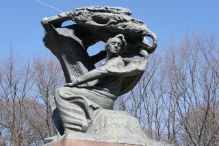 Pomnik Chopina w Łazienkach