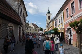 Uliczki starego miasta w Szentendre