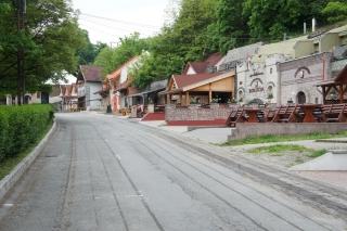 Eger - Dolina Pięknej Panny nad ranem